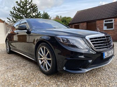 Mercedes-Benz S Class Saloon 5.5 S63L AMG (Executive) MCT (s/s) 4dr