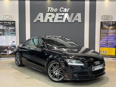 Audi TT Coupe 2.0 TFSI Black Edition quattro S Tronic 2dr