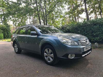 Subaru Outback Estate 2.5 i S Lineartronic AWD 5dr