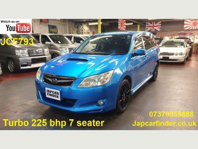 Subaru Exiga MPV JDM YA5 2.0L GT TURBO 7 SEATER 225 BHP