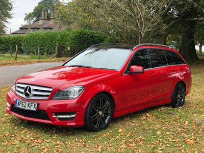 Mercedes-Benz C Class Estate 2.1 C220 CDI AMG Sport Plus 7G-Tronic Plus 5dr