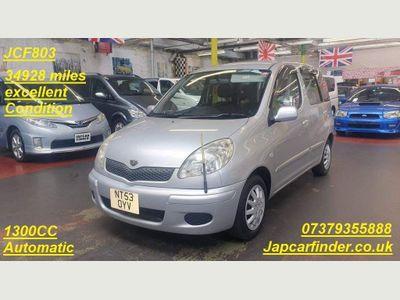Toyota Yaris Verso Hatchback Verso 1.3 VVT-i T3 only 34928 miles