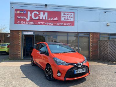 Toyota Yaris Hatchback 1.33 Dual VVT-i Orange Edition 5dr
