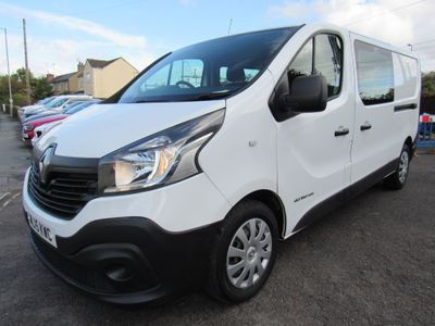 Renault Trafic Other 1.6 dCi ENERGY 29 Business Crew Van 5dr