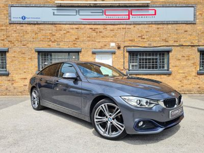 BMW 4 Series Gran Coupe Hatchback 2.0 420i Sport Gran Coupe Auto xDrive 5dr