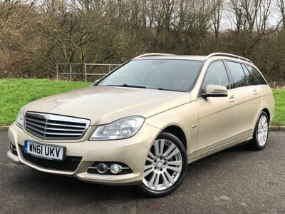 Mercedes-Benz C Class Estate 2.1 C200 CDI BlueEFFICIENCY Edition Edition 125 5dr