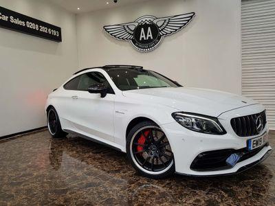 Mercedes-Benz C Class Coupe 4.0 C63 V8 BiTurbo AMG S (Premium Plus) SpdS MCT (s/s) 2dr