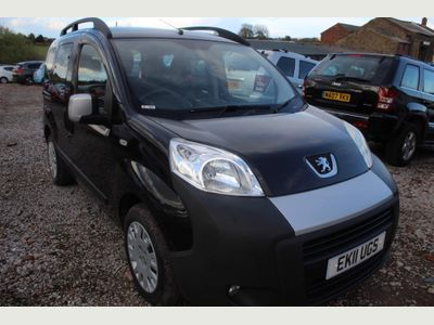 Peugeot Bipper Tepee MPV 1.3 HDi Outdoor EGC (s/s) 5dr