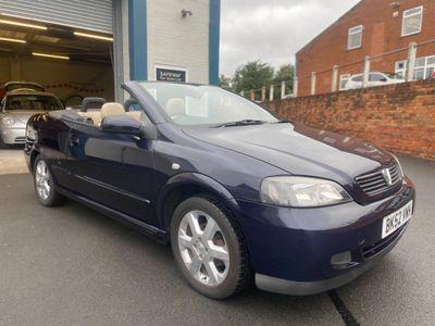 Vauxhall Astra Convertible 1.6 i 16v 2dr