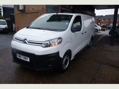 Citroen Dispatch Panel Van 1.6 BlueHDi 1200 Enterprise XL LWB EU6 6dr