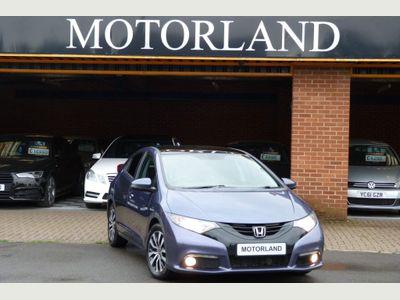 Honda Civic Hatchback 1.6 i-DTEC SR 5dr
