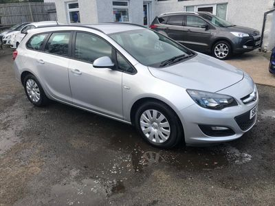 Vauxhall Astra Estate 1.7 CDTi ecoFLEX 16v Exclusiv (s/s) 5dr