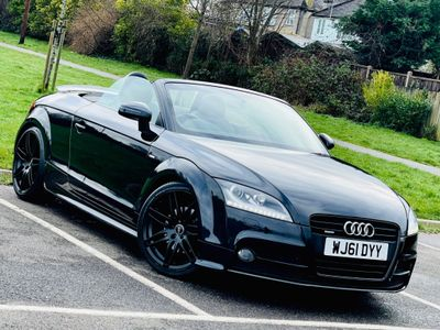 Audi TT Convertible 2.0 TFSI Black Edition Roadster quattro S Tronic 2dr