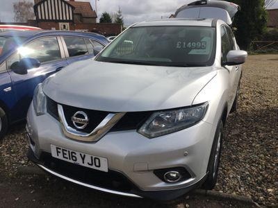 Nissan X-Trail SUV 1.6 dCi Acenta+ (s/s) 5dr
