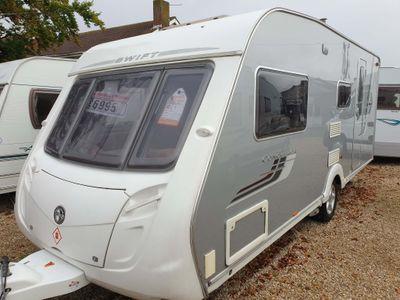 Swift Conqueror 530 Tourer Touring caravan