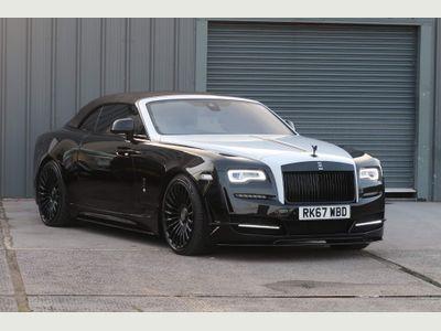 Rolls-Royce Dawn Convertible 6.6 V12 Black Badge Auto 2dr