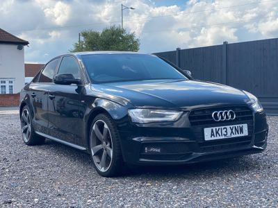 Audi A4 Saloon 1.8 TFSI Black Edition Multitronic 4dr (Nav)