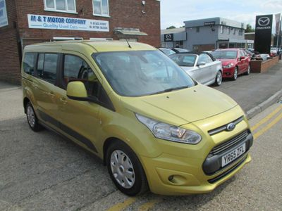 FORD GRAND TOURNEO CONNECT MPV 1.5 TDCi Zetec (s/s) 5dr