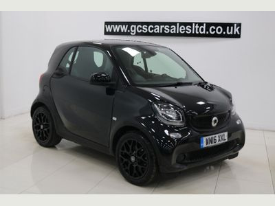Smart fortwo Coupe 1.0 Edition Black Twinamic (s/s) 2dr