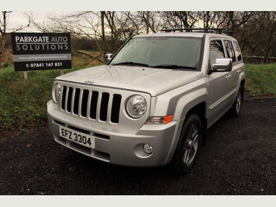Jeep Patriot SUV 2.2 CRD Limited 4x4 5dr