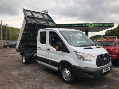 Ford Transit Chassis Cab 350 Crew Cab Tipper