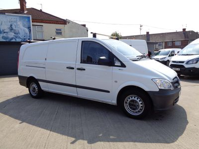 Mercedes-Benz Vito Panel Van 2.1 113CDI BlueEFFICIENCY Extra Long Panel Van 5dr (EU5)