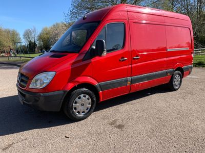 Mercedes-Benz Sprinter Panel Van 2.1 CDI 315 Extra High Roof Panel Van 5dr MWB