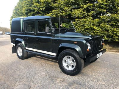 Land Rover Defender 110 Pickup 2.4 TDi County Double Cab 4dr