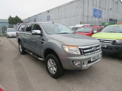 Ford Ranger Pickup 2.2 TDCi Limited Super Cab Pickup 4x4 4dr (EU5)