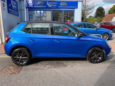 SKODA Fabia Hatchback 1.2 TSI Colour Edition (s/s) 5dr