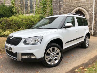 SKODA Yeti SUV 2.0 TDI SE L Outdoor 4WD (s/s) 5dr
