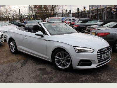 Audi A5 Cabriolet Convertible 2.0 TFSI Sport Cabriolet S Tronic (s/s) 2dr