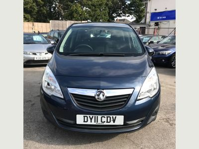 Vauxhall Meriva MPV 1.4 T 16v Exclusiv 5dr (a/c)
