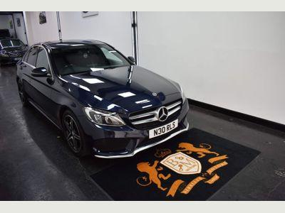 Mercedes-Benz C Class Saloon 2.1 C220d AMG Line G-Tronic+ (s/s) 4dr
