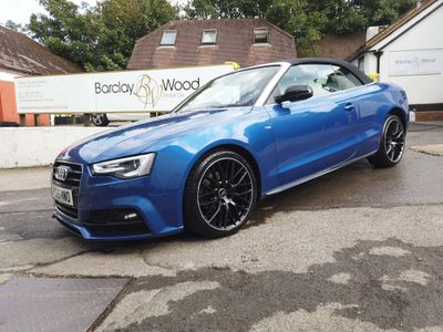 Audi A5 Cabriolet Convertible 2.0 TDI S line Special Edition Plus Cabriolet Multitronic (s/s) 2dr