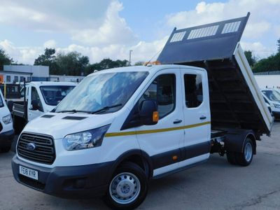 Ford Transit Tipper 2.0TDCI 130PS DOUBLE CAB TIPPER EURO 6