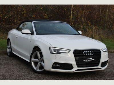 Audi A5 Cabriolet Convertible 2.0 TDI S line Cabriolet 2dr Diesel Multitronic (132 g/km, 175 bhp)