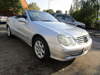 Mercedes-Benz CLK Convertible 2.6 CLK240 Elegance Cabriolet 2dr