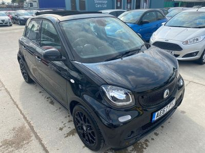 Smart forfour Hatchback 1.0 Prime Sport Night Sky (Premium) (s/s) 5dr