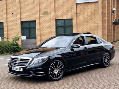 Mercedes-Benz S Class Saloon 3.0 S350 CDI BlueTEC AMG Line L 7G-Tronic Plus 4dr