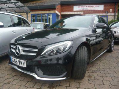 Mercedes-Benz C Class Saloon 2.1 C250d AMG Line (Premium Plus) 7G-Tronic+ (s/s) 4dr