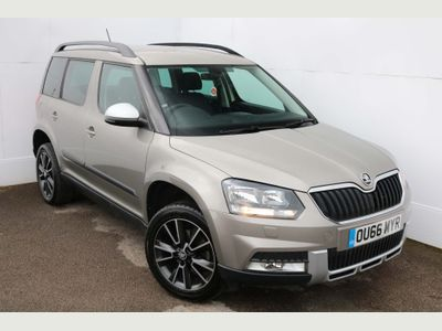 SKODA Yeti SUV 2.0 TDI SE Business Outdoor 4WD (s/s) 5dr