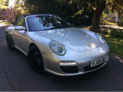 Porsche 911 Convertible 3.6 997 Carrera Cabriolet 2dr
