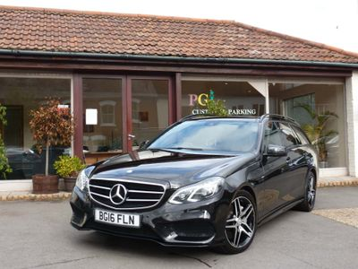 Mercedes-Benz E Class Estate 3.0 E350 CDI BlueTEC AMG Night Edition (Premium) 9G-Tronic Plus 5dr