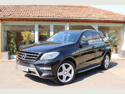 Mercedes-Benz M Class SUV 2.1 ML250 CDI BlueTEC AMG Line (Premium) 7G-Tronic Plus 4x4 5dr