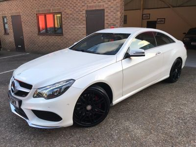 Mercedes-Benz E Class Coupe 3.0 E400 AMG Sport 7G-Tronic Plus 2dr