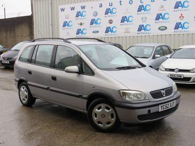 Vauxhall Zafira MPV 1.6 i 16v Comfort 5dr (a/c)