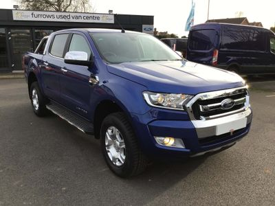 Ford Ranger Pickup 3.2 TDCi Limited 1 Double Cab Pickup 4WD (s/s) 4dr