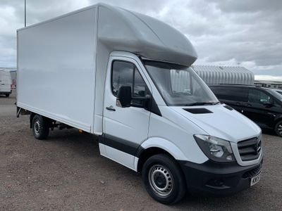 Mercedes-Benz Sprinter Chassis Cab 313 CDI LUTON WITH TAIL LIFT L.W.B