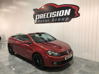 Volkswagen Golf Convertible 2.0 TDI BlueMotion Tech GT Cabriolet 2dr